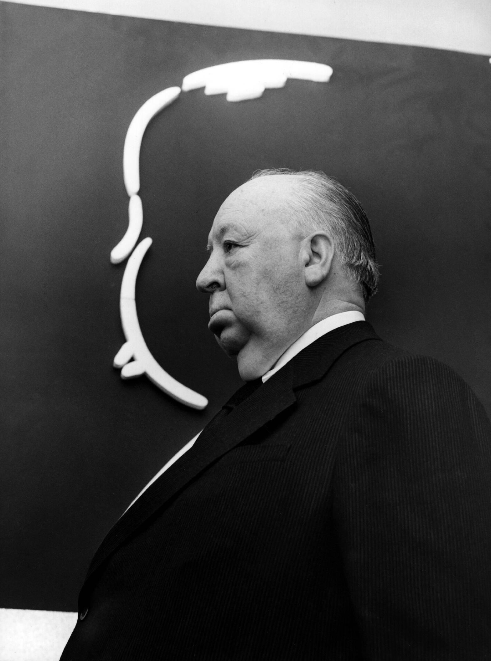 immagine del regista alfred Hitchcock
